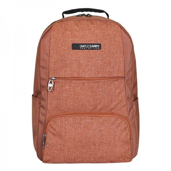 Balo laptop SimpleCarry B2b15 màu nâu 1