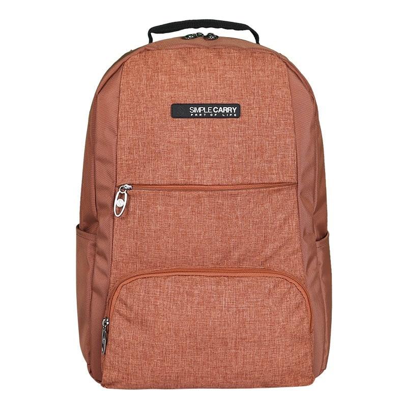 Balo laptop SimpleCarry B2b15 màu nâu 2