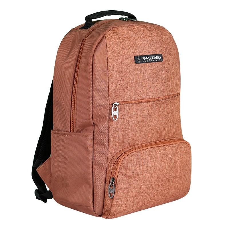 Balo laptop SimpleCarry B2b15 màu nâu 8