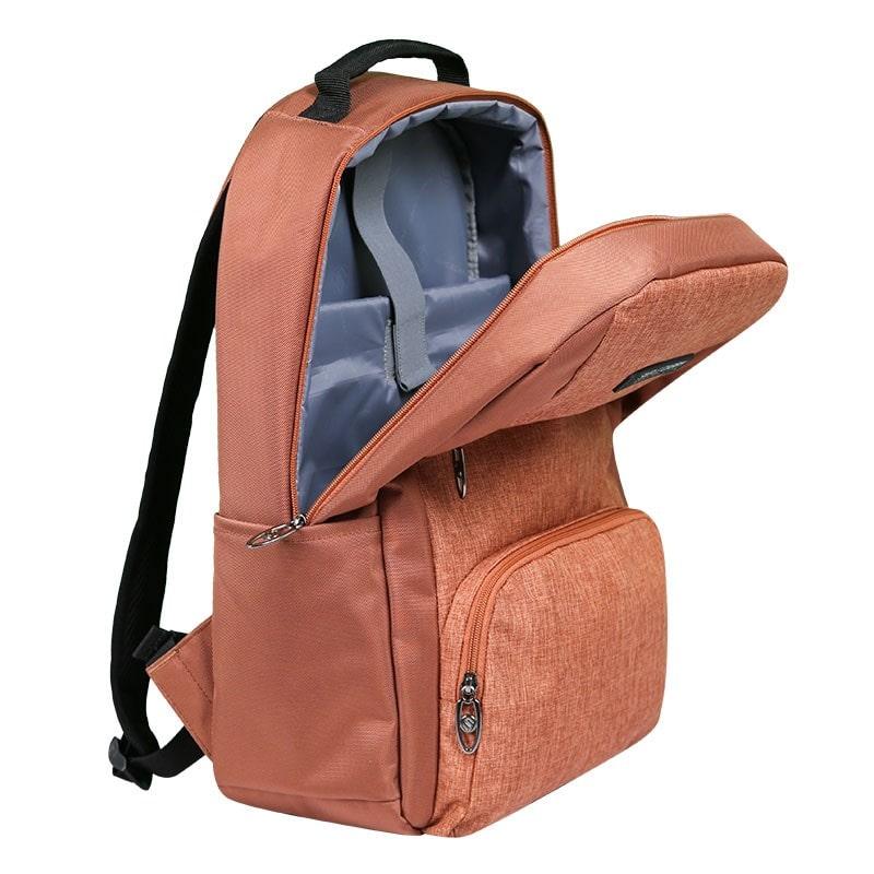 Balo laptop SimpleCarry B2b15 màu nâu 9