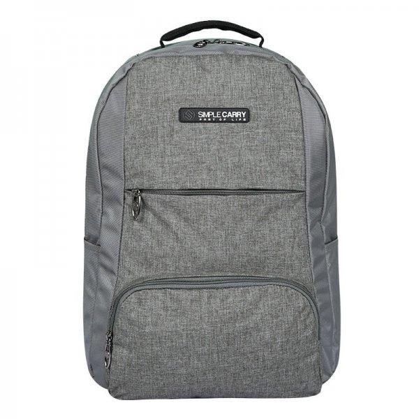 Balo laptop SimpleCarry B2b15 màu xám 1