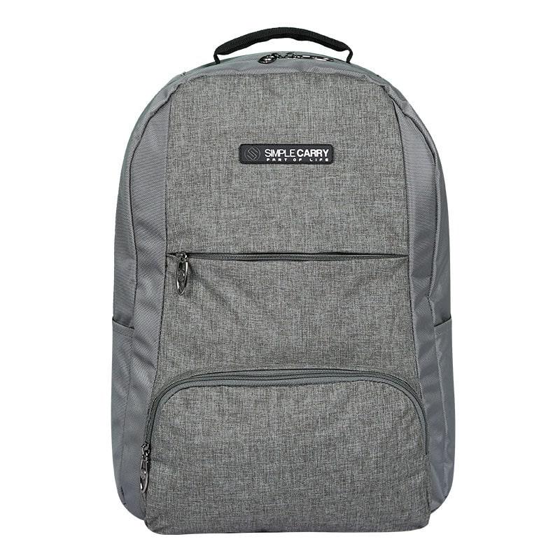 Balo laptop SimpleCarry B2b15 màu xám 7