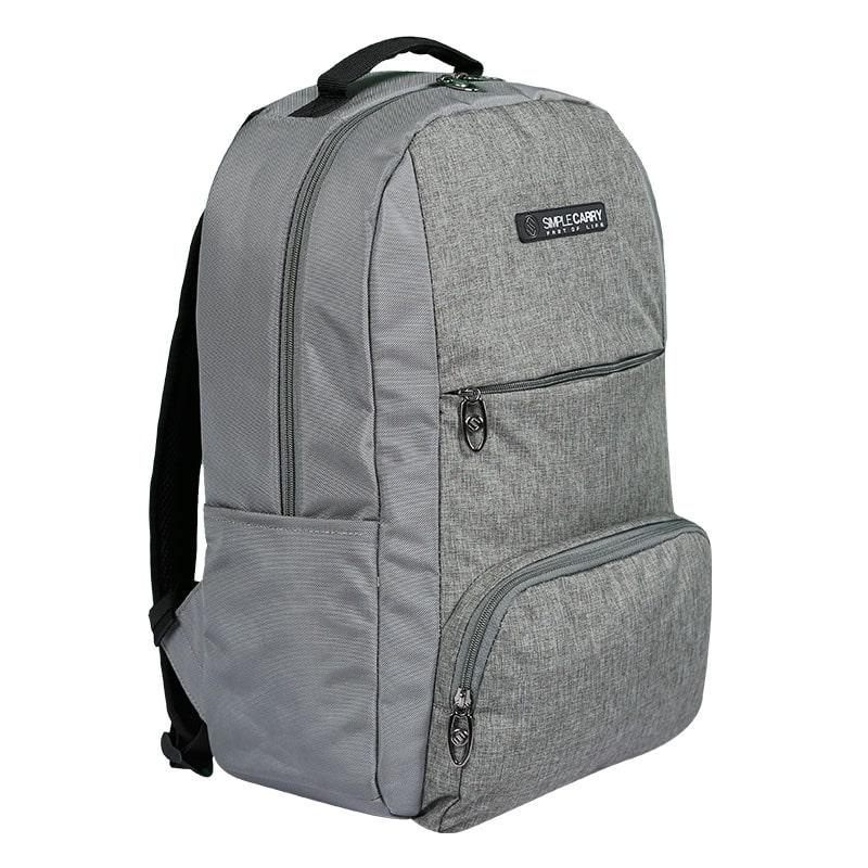 Balo laptop SimpleCarry B2b15 màu xám 8