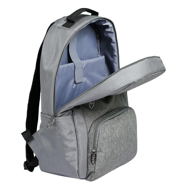 Balo laptop SimpleCarry B2b15 màu xám 9