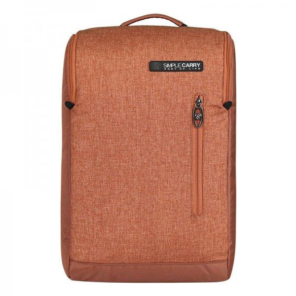 Balo laptop B2b05 màu nâu 1