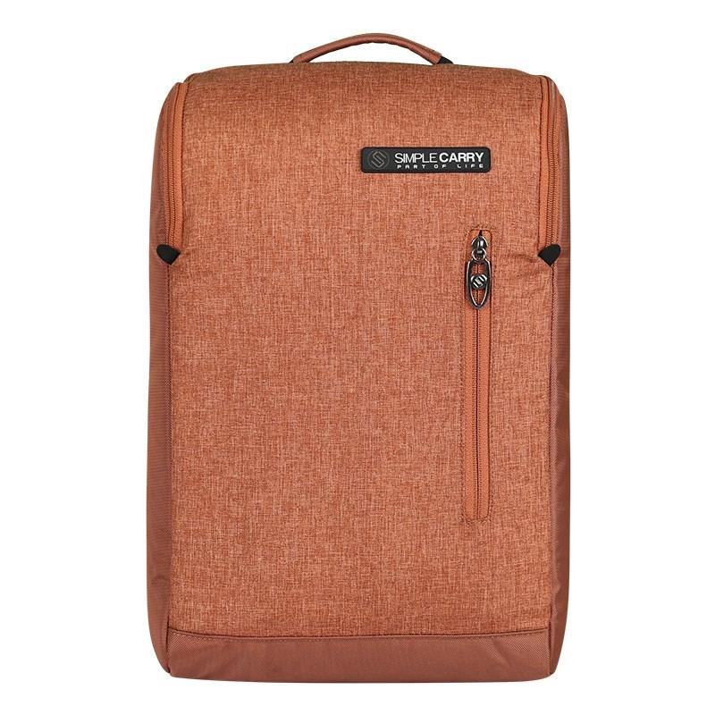 Balo laptop B2b05 màu nâu 8