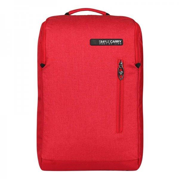 Balo thời trang SimpleCarry B2b05 màu đỏ 1