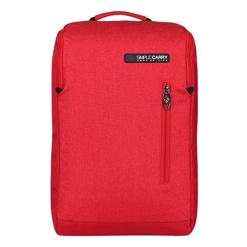 Balo thời trang SimpleCarry B2b05 màu đỏ 8
