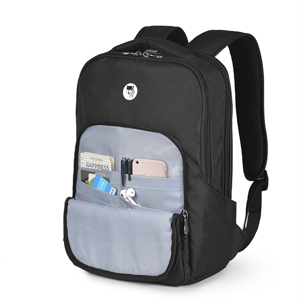 BALO LAPTOP MIKKOR THE MADDOX BACKPACK MÀU ĐEN 4