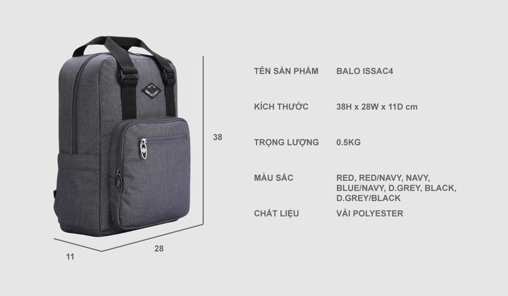 BALO LAPTOP SIMPLE CARY ISSAC4 BLUE/NAVY 15