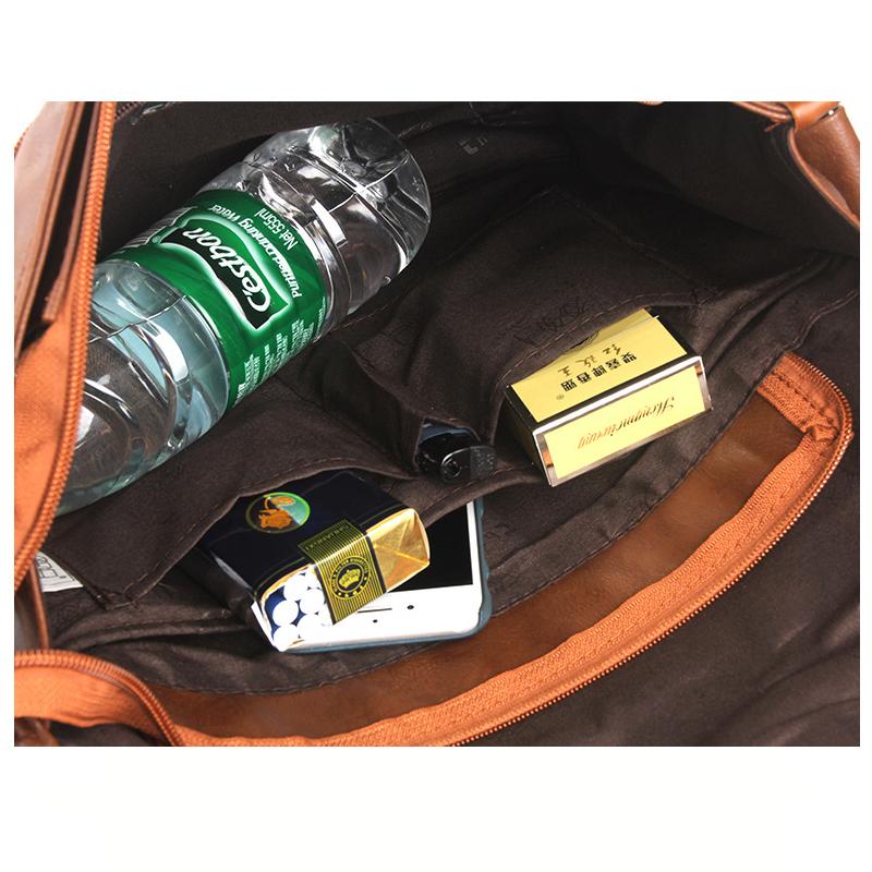 Túi đeo chéo Da THREE BOX 06 12