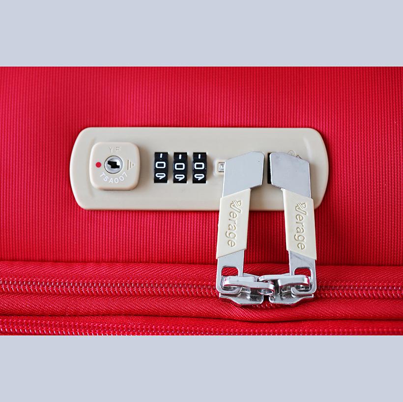"Vali Kéo Verage GM13005W VI Cabin Size 20"" Màu Đỏ 12"