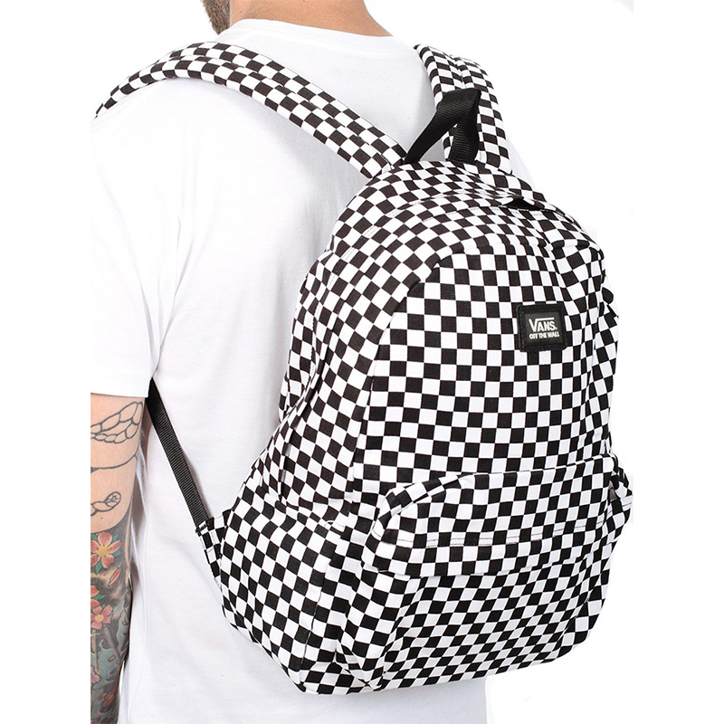 Balo Vans OLD SKOOL CHECKERBOARD BACKPACK 14