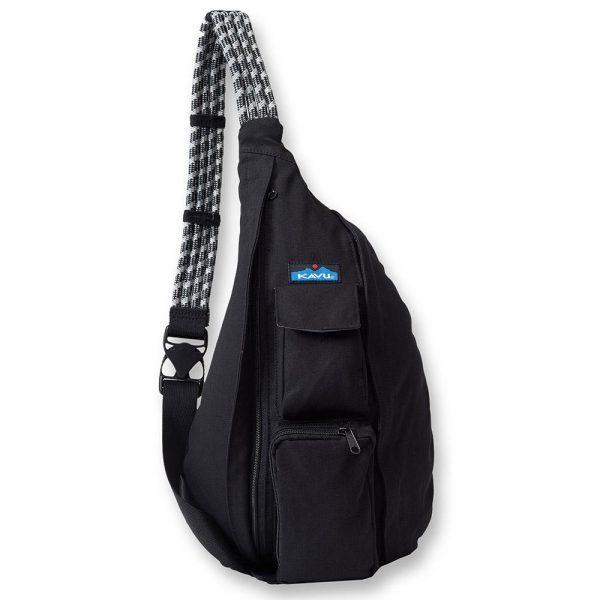 Balo túi Kavu Rope Bag Black BACKPACK 1