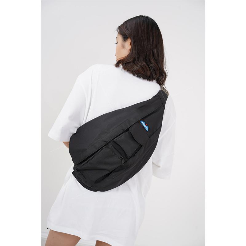 Balo túi Kavu Rope Bag Black BACKPACK 11