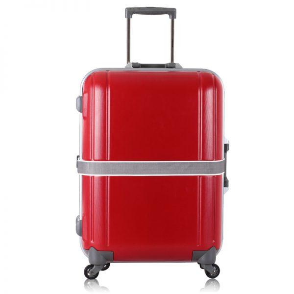 Vali kéo Prince 94866 cỡ lớn size 27 màu đỏ 1