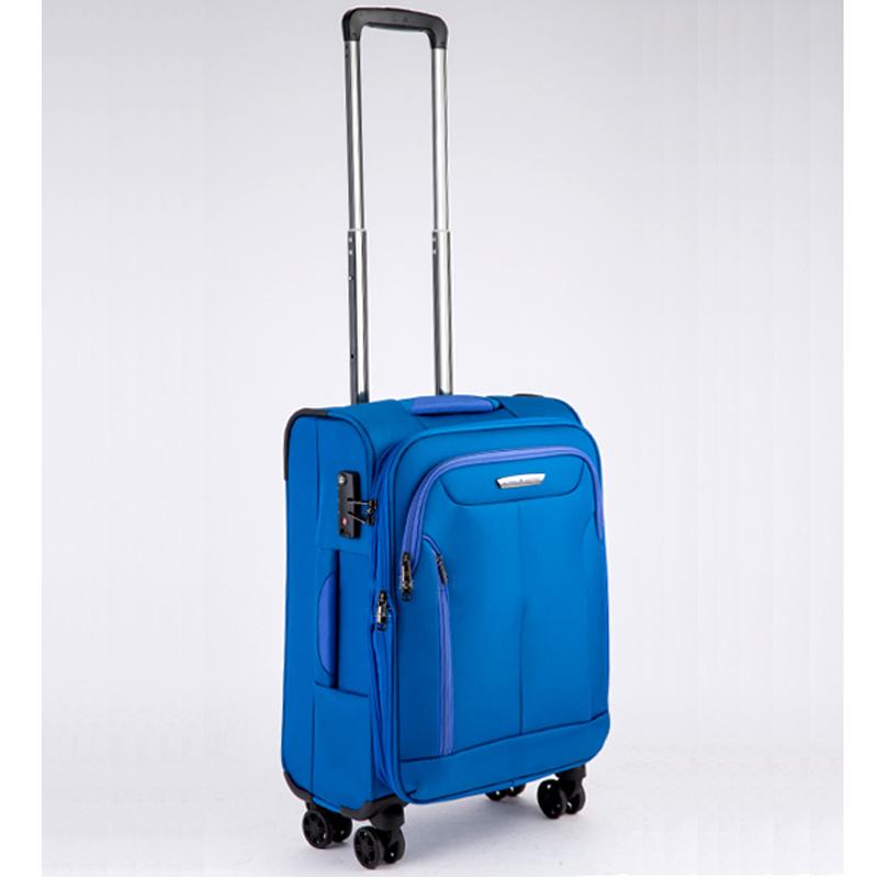 Vali kéo vải Glossy Diamond GL1801 size 20 Xanh 10