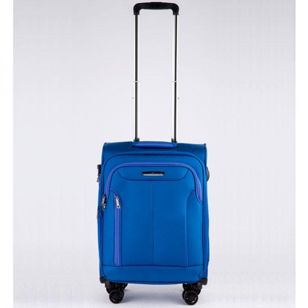 Vali kéo vải Glossy Diamond GL1801 size 20 Xanh 1