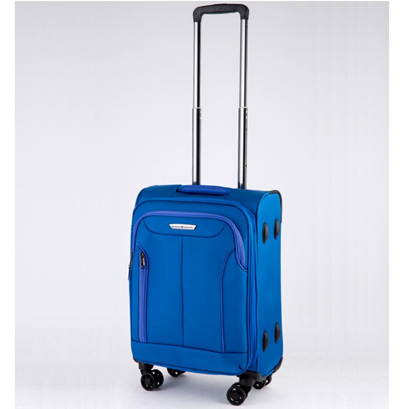 Vali kéo vải Glossy Diamond GL1801 size 20 Xanh 16