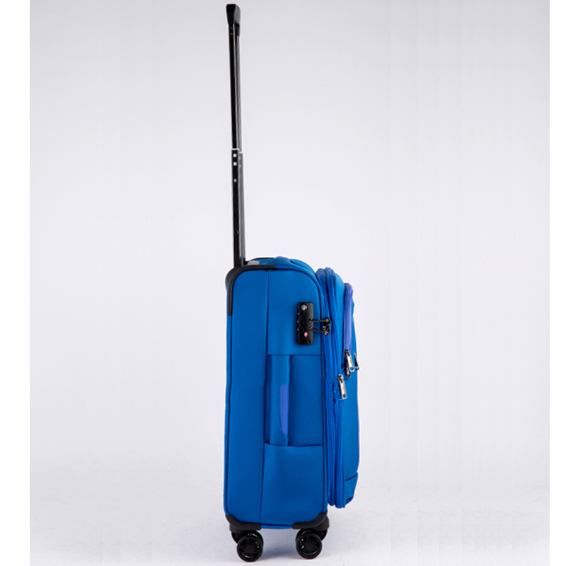 Vali kéo vải Glossy Diamond GL1801 size 20 Xanh 14