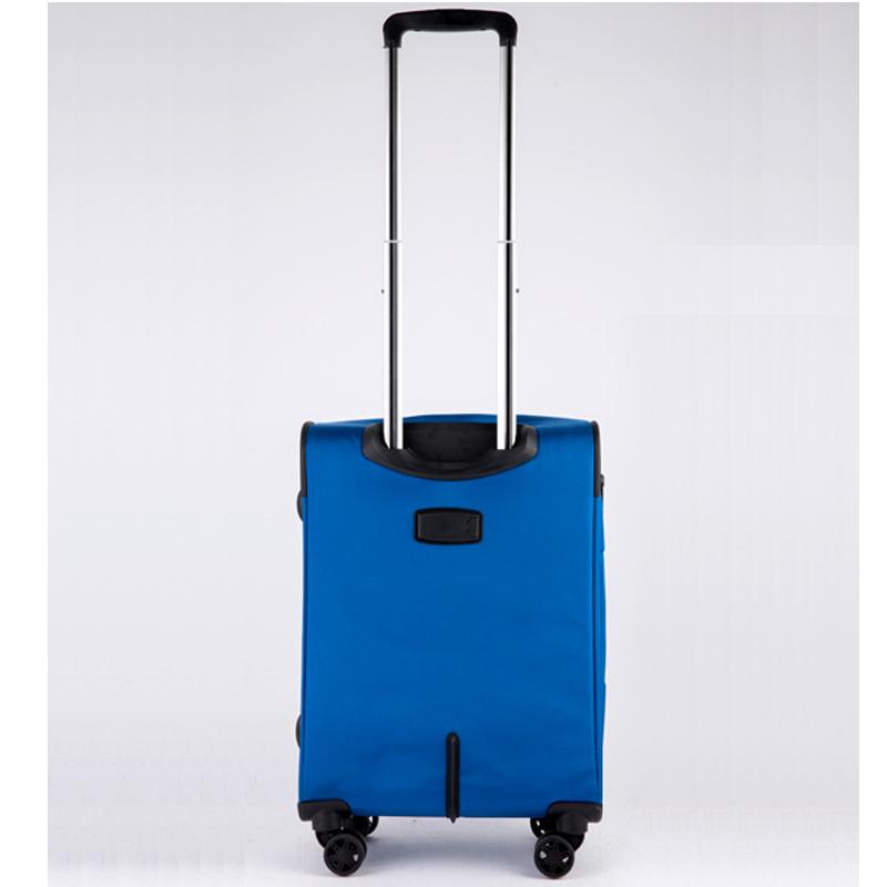 Vali kéo vải Glossy Diamond GL1801 size 20 Xanh 15