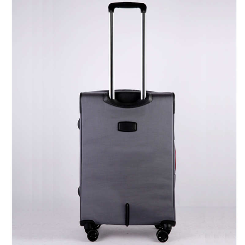 Vali kéo vải Glossy Diamond GL1801 size 24 Xám Ghi 14