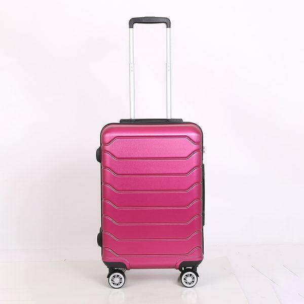 Vali kéo Sakos Minerva-z22 màu hồng 1