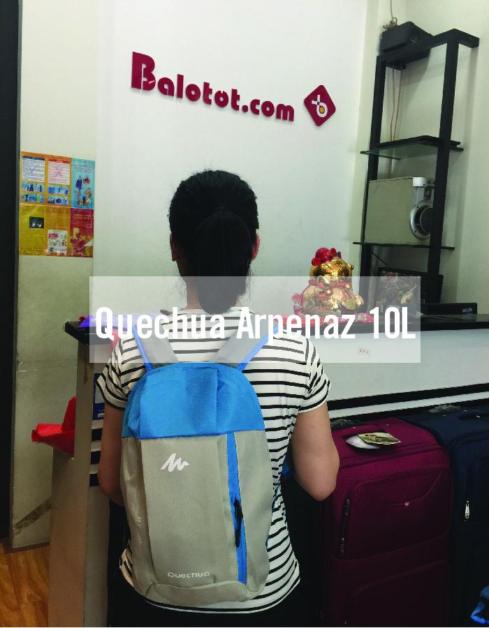 Balo Quechua Arpenaz 10L cho chuyến dã ngoại thật năng động 1