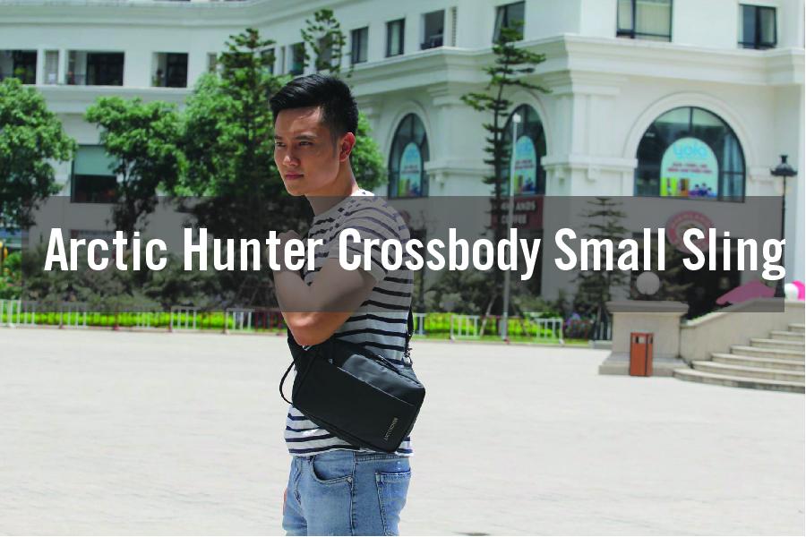 Balo đeo chéo Arctic Hunter Crossbody Small Sling cho bạn trẻ hiện đại 1
