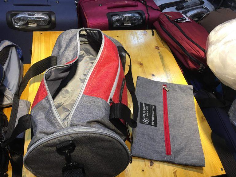 Túi du lịch, thể thao SimpleCarry Gym Bag đa năng, tiện lợi 4