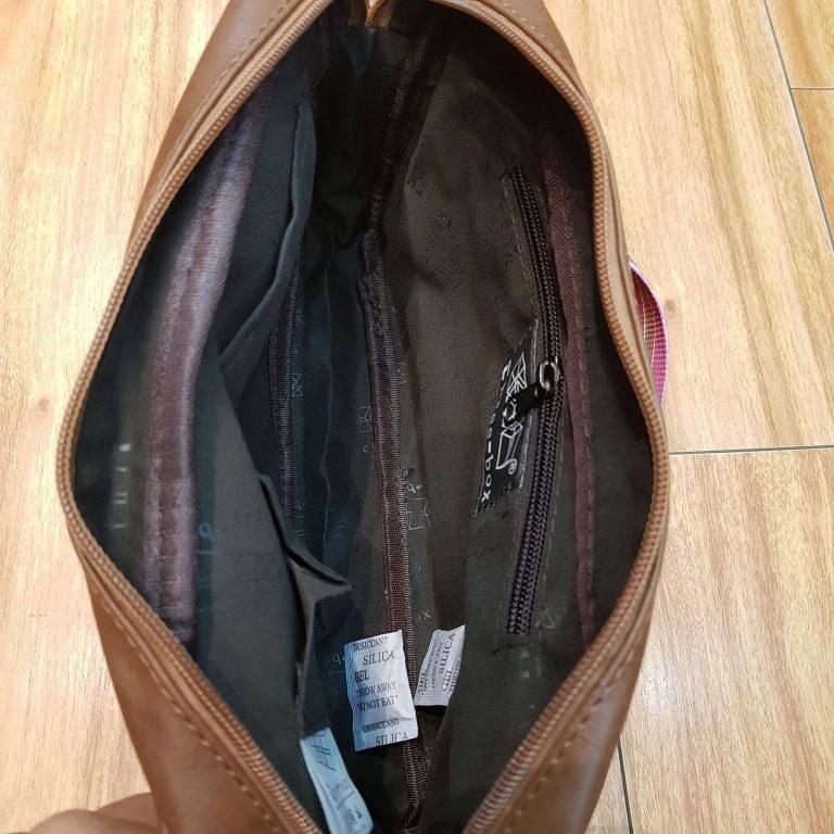 Túi đeo chéo phối thổ cẩm siêu xinh cho nàng diện phố 3