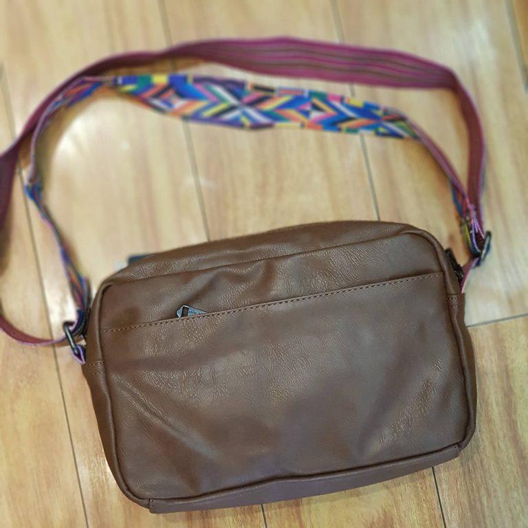 Túi đeo chéo phối thổ cẩm siêu xinh cho nàng diện phố 6