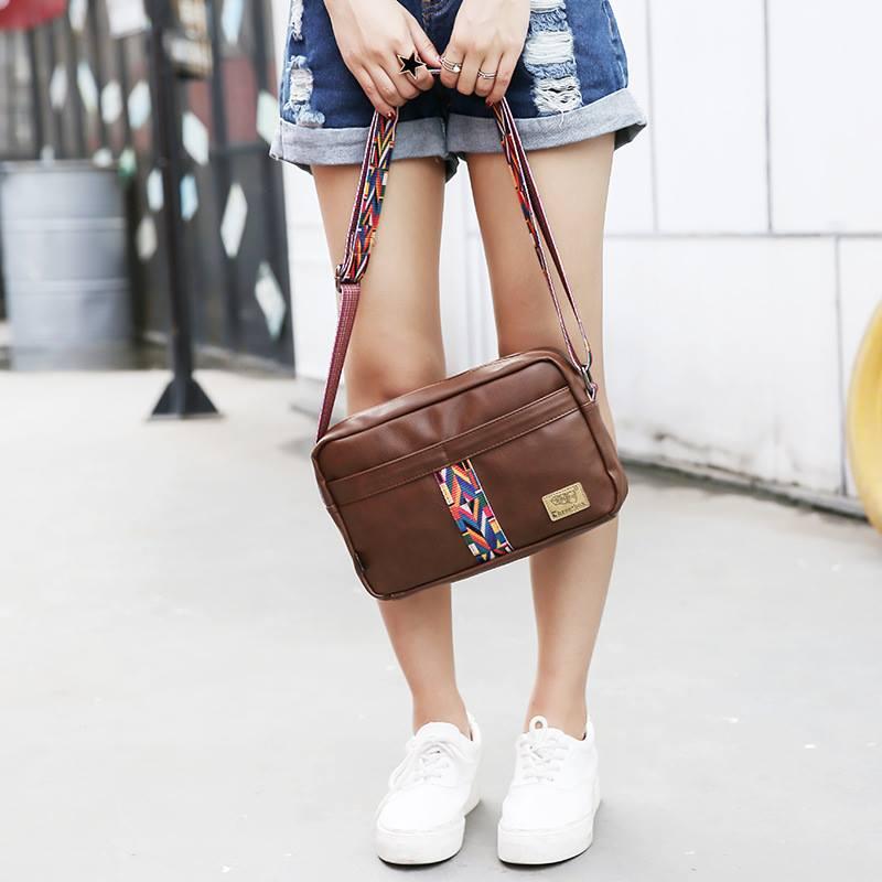 Túi đeo chéo phối thổ cẩm siêu xinh cho nàng diện phố 1