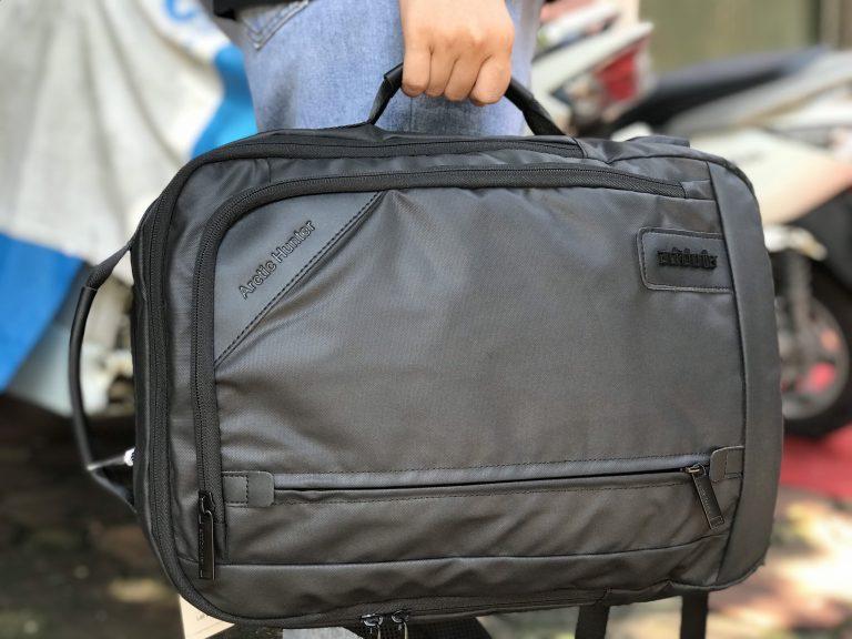 Tiện ích bất ngờ với balo laptop Arctic Hunter Waterproof School Backpack 3