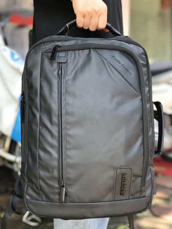 Tiện ích bất ngờ với balo laptop Arctic Hunter Waterproof School Backpack 4