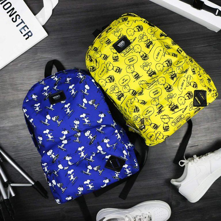 Vans X Peanuts Old Skool Backpack - Balo xinh không thể không sở hữu 1