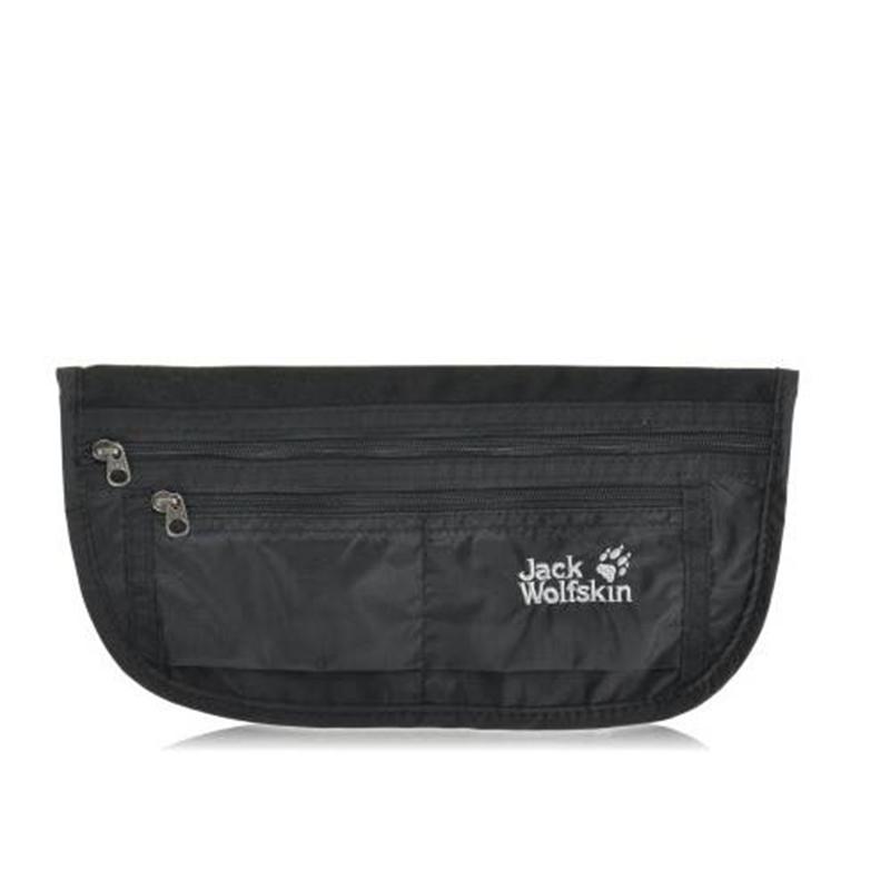 Túi bao tử Jack Wolfskin Document Belt De Luxe Black 10