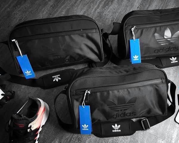 Sau dịch đi gym không nên bỏ lỡ túi tập gym Adidas Originals Duffel Small Bag thời trang 5