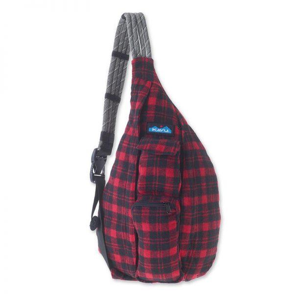 Balo Kavu Plaid Rope Bag 1