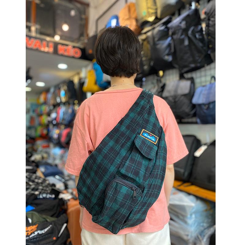 Balo Kavu Plaid Rope Bag 12