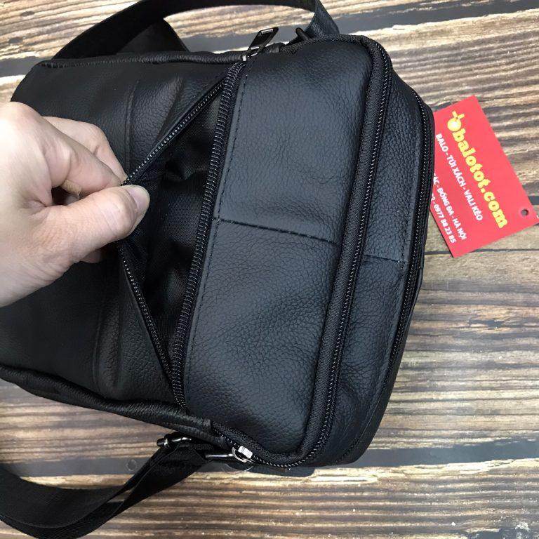 Túi Đeo Chéo Da Bò Nam Đựng Ipad Mini TD7604 18