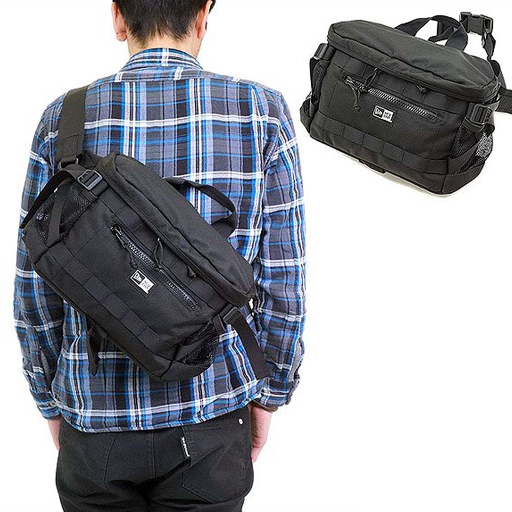 Túi chéo NewEra Square Waist Bag Black n0019256 11