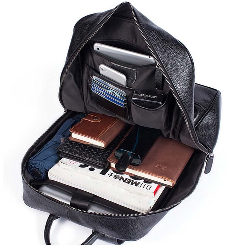 Balo Da Thật Đựng Laptop Nam Nữ Thời trang MÃ BD8110 10
