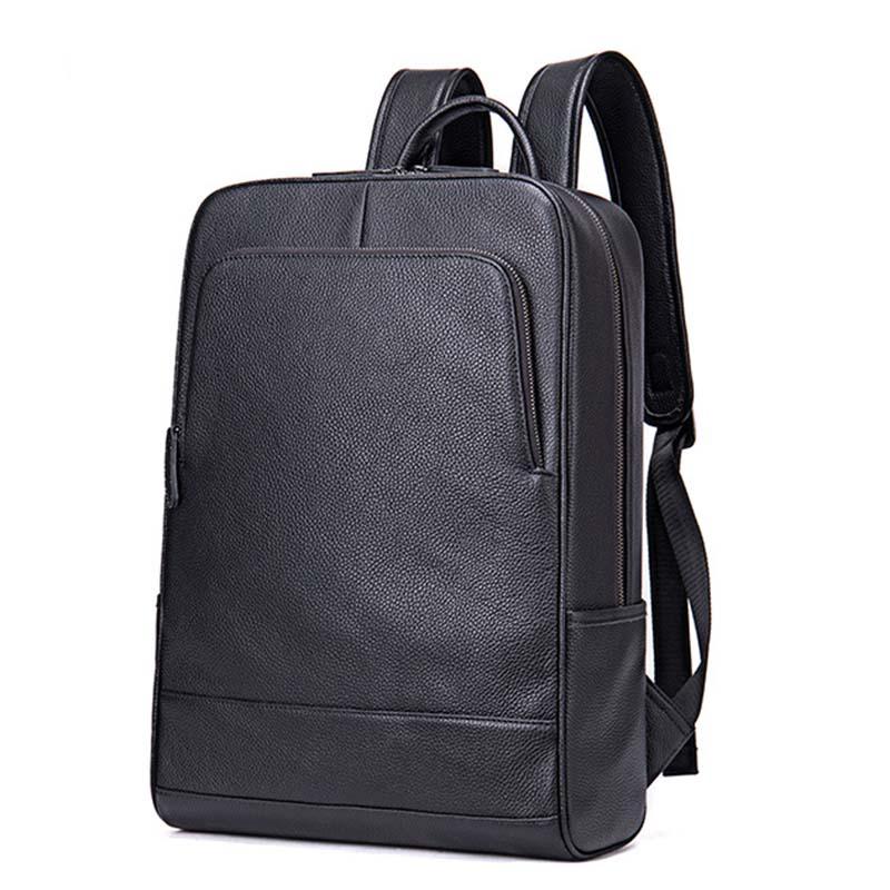 Balo Da Thật Đựng Laptop Nam Nữ Thời trang MÃ BD8110 12